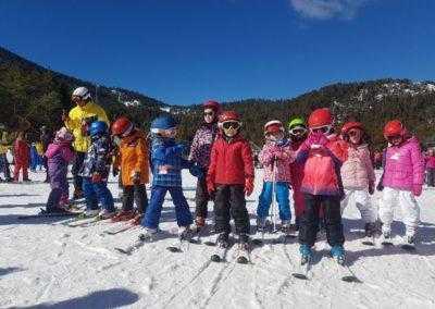 esquiada montagut