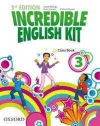 INCREDIBLE ENGLISH KIT . CLASS BOOK 3. 3RD EDITION