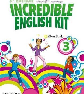 INCREDIBLE ENGLISH KIT . CLASS BOOK 3. 3RD EDITION