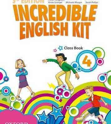 INCREDIBLE ENGLISH KIT CLASS BOOK 4
