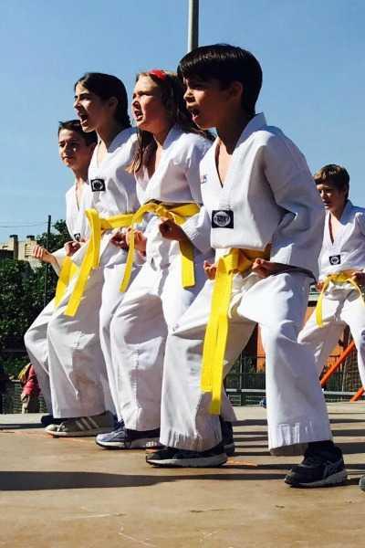 Taekwondo p5 – 6è primària
