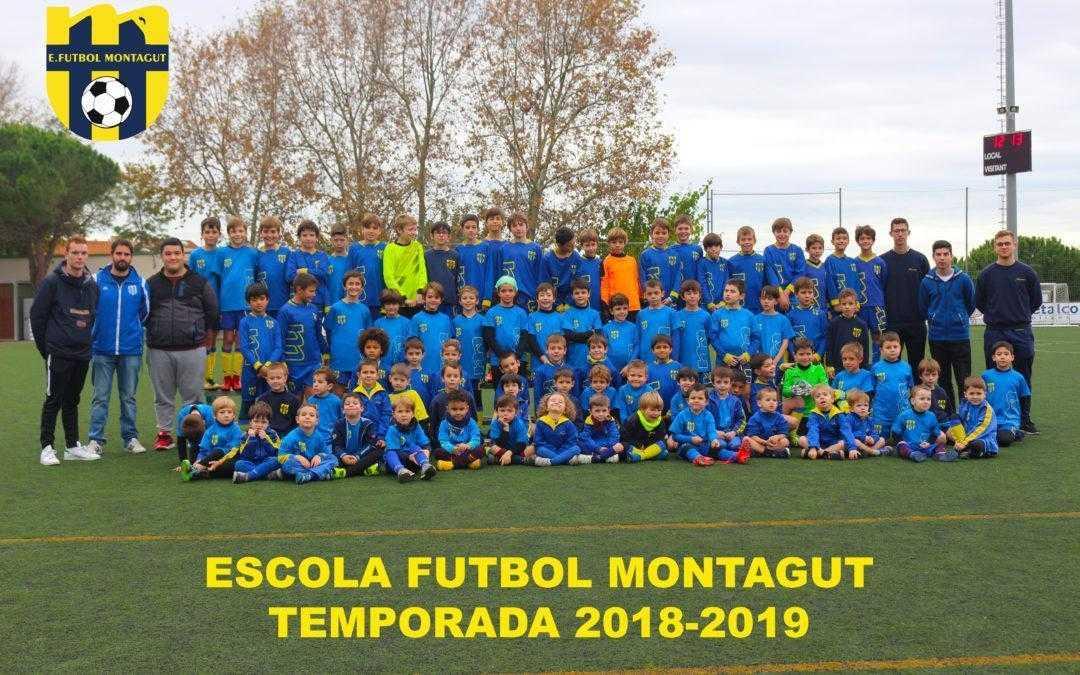 Presentació temporada 2018-2019 Escola Futbol Montagut