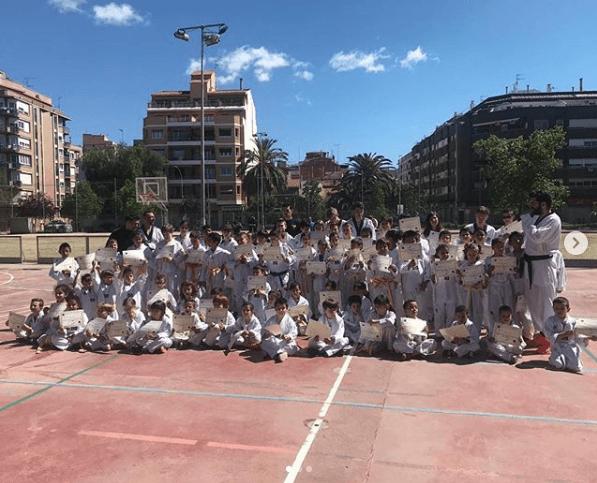 Master-class Taekwondo